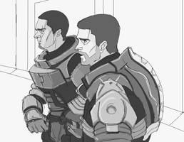 Clarke and Carver by auraelauste