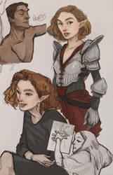 Inquisitors by auraelauste