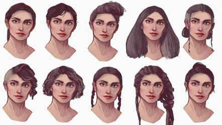 hair by auraelauste
