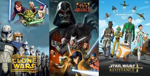 Star Wars Cartoon Series by Anarchrist17