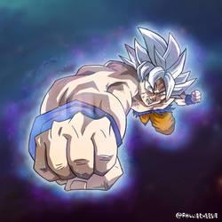 Goku Ultra Instinct Mastered by PhillieCheesie