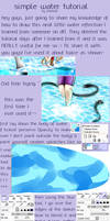 Simple Water Surface Tutorial (Paint Tool Sai) by Bootsii