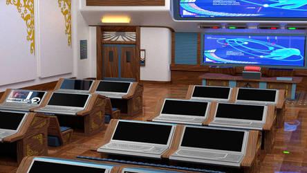 BGU classroom by Shunsquall