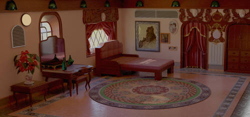 Rinoa's room by Shunsquall