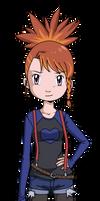 Ruki Makino grown up by Deko-kun