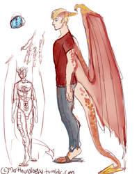 Arthur Pendragon-- Mutant/X-men AU by fluffpuffgerbil