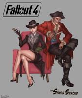 fallout4 hancock  fem sole survivor by SchwarzesGift411