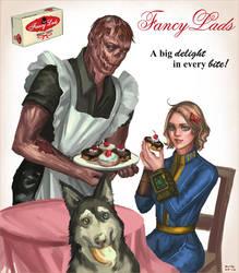 Fancy Lads Snack Cakes by SchwarzesGift411
