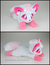 Custom pink Alola Vulpix by tifiz