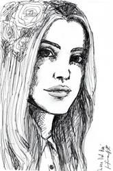 Lana Del Rey by LilianSK