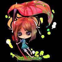 CHIBI COMMISSION : SKYA by kingryuuzaki