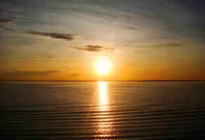 Sunrise in Cebu by vandominic