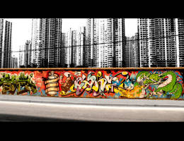 Shanghai Graffiti 10 by sylences
