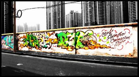 Shanghai Graffiti 291 by sylences