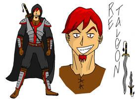 Re Talgon character sketch by JTtheNinja