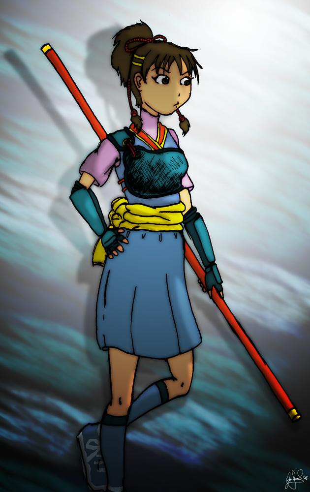 Nanase sketch by JTtheNinja