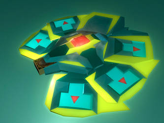 Ice Barrier Duel Disk by Uchihauryu