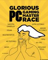 Glorious PC Gaming Master Race by sasukekun17