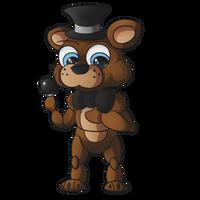 Freddy Chibi by Panda-Paradise