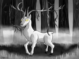 Guiding Stag by Panda-Paradise