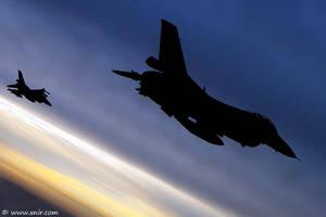 Flying Shadows by xnir