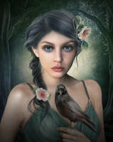 Angel triste by ElenaDudina