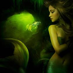 The mermaid by ElenaDudina