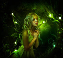 Forest nymph by ElenaDudina