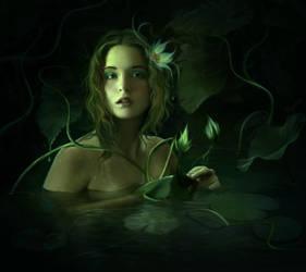 Hidden bath by ElenaDudina