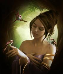 Quartet in the woods by ElenaDudina