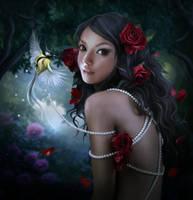 Roses and pearls by ElenaDudina