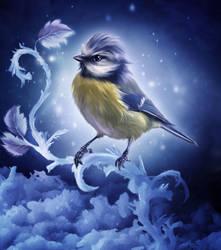 Winter bird by ElenaDudina