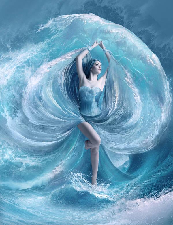 Sea dress by ElenaDudina