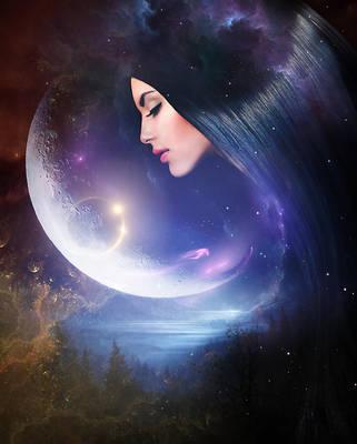 Moon face by ElenaDudina
