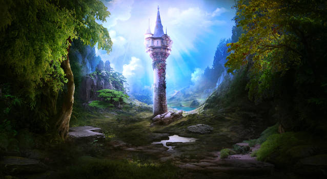 Magic tower by ElenaDudina