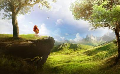 Green field by ElenaDudina