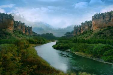 River by ElenaDudina