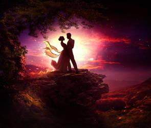 Dancing in the moonlight by ElenaDudina