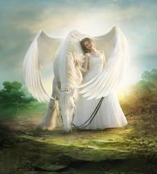 Pegasus by ElenaDudina