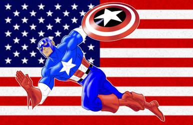 Captain America P.S. by Thuddleston