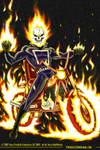 76' Ghost Rider PS Commission by Thuddleston