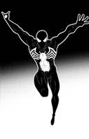 Spiderman Black Suit by Thuddleston