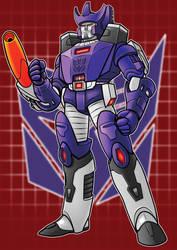 GALVATRON Transformers Series by Thuddleston