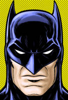 Batman Blue by Thuddleston