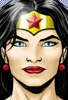 Wonder Woman Portrait Series by Thuddleston