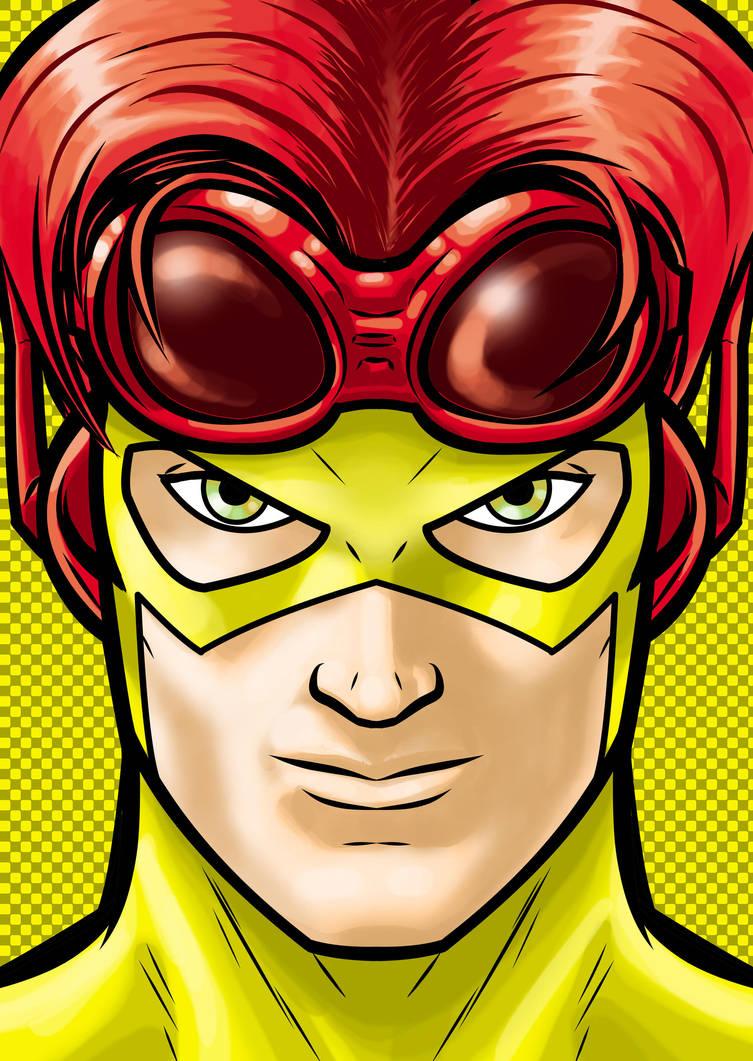Kid Flash by Thuddleston