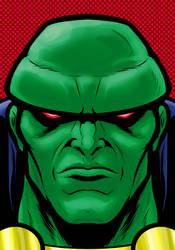 Martian ManHunter by Thuddleston