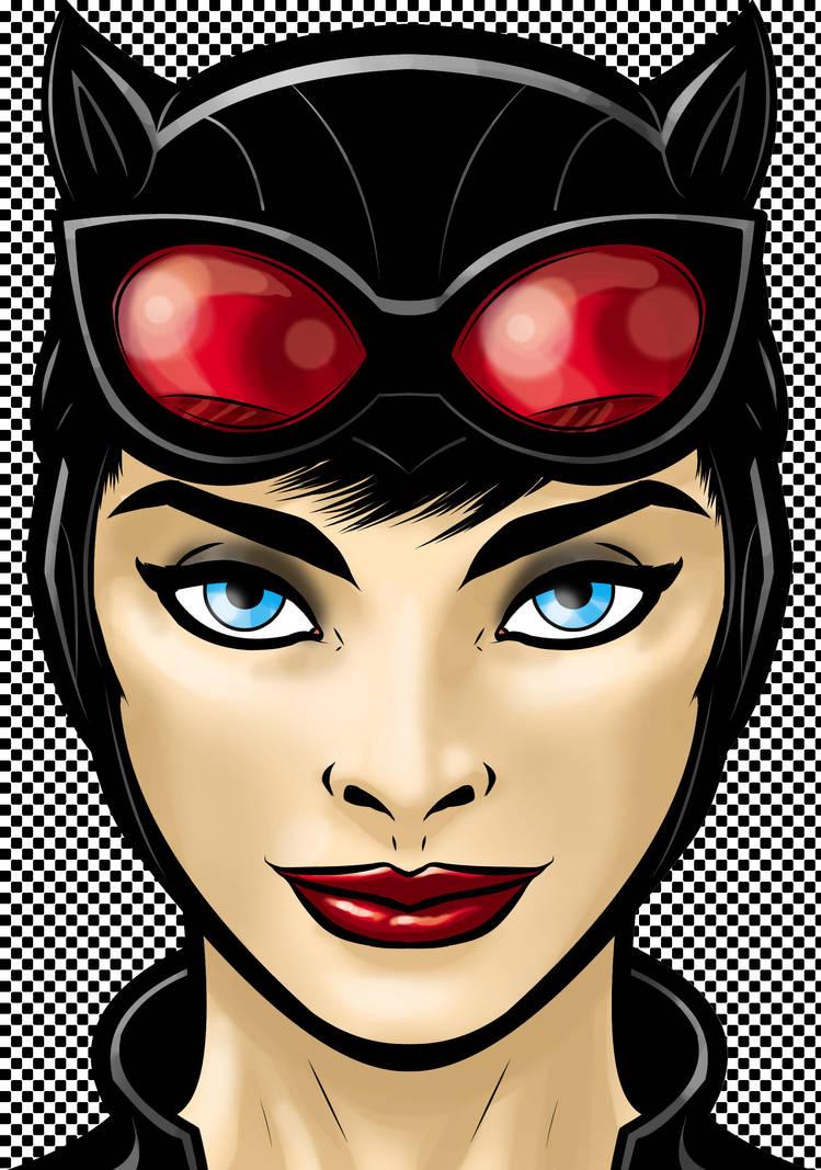 Catwoman by Thuddleston