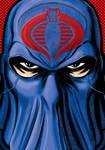 Cobra Commander Portrait Shot Commission by Thuddleston