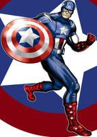 Capt America Prestige Series Movie Suit by Thuddleston